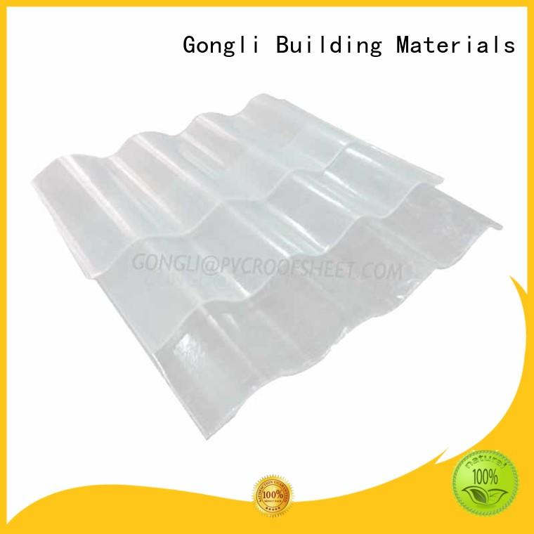 Best translucent roofing frp Supply for chemical factory day lighting