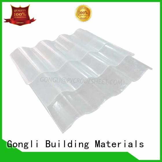 Gongli on-sale transparent fiberglass sheet wind for farms