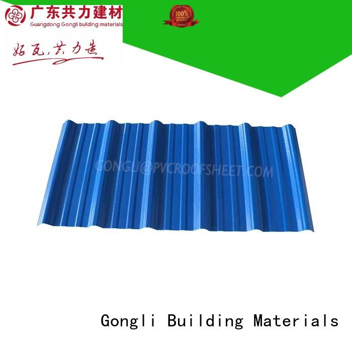 Custom composite roofing panels wave Supply for car shed