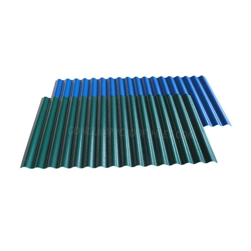 ASAPVC Corrugated  Embossed sheet