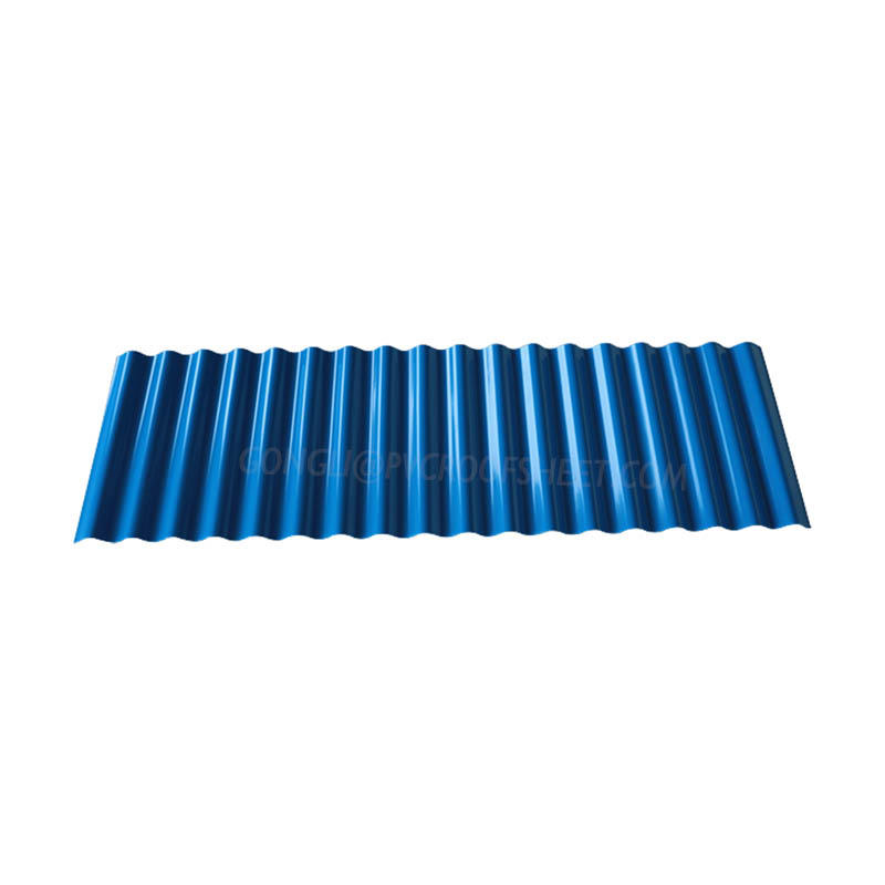 UPVC  Corrugated  sheet