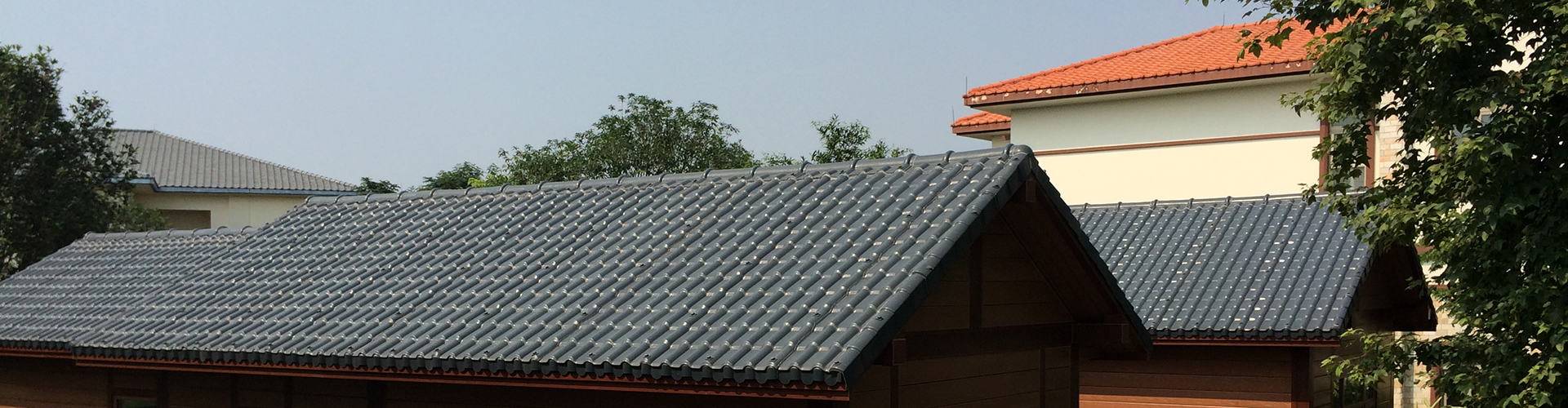 40MM Height wave  UPVC-pvc roofing sheets, roofing sheets manufacturers, upvc roof tiles-Gongli