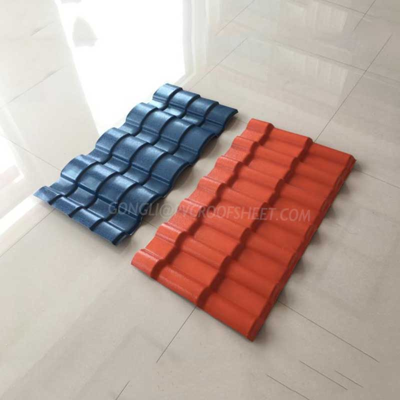 Gongli-chinese roof tiles   ASA Synthetic Resin Roof Tiles   Gongli-1