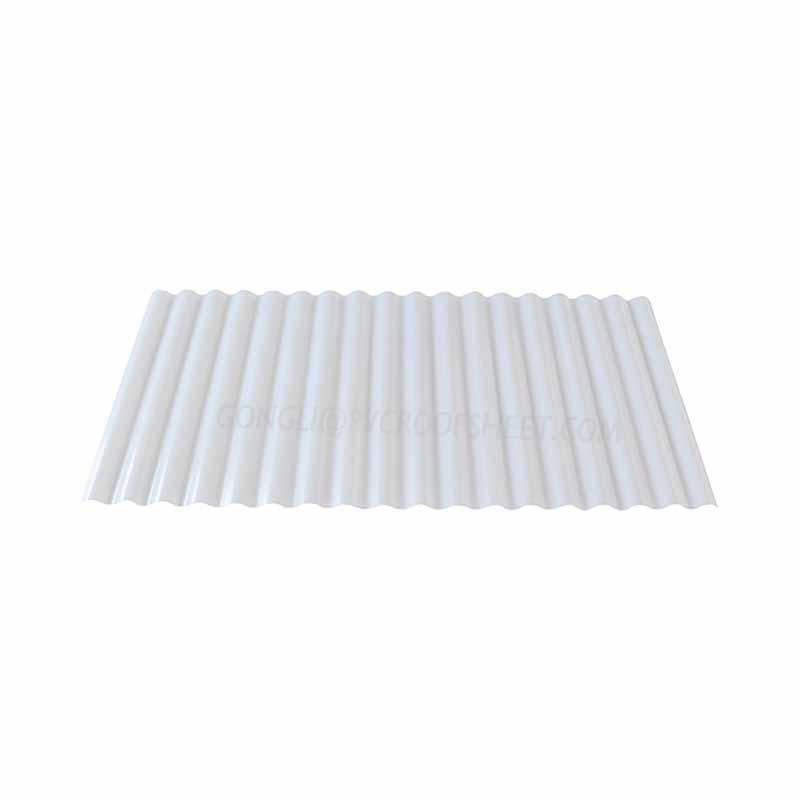 UPVC Translucent corrugated sheet