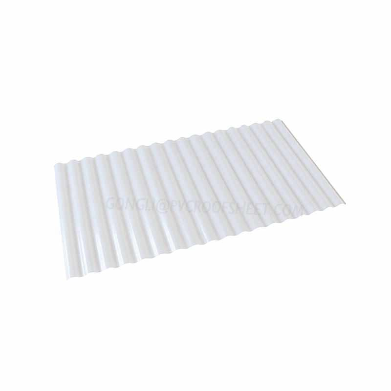 UPVC Translucent corrugated sheet