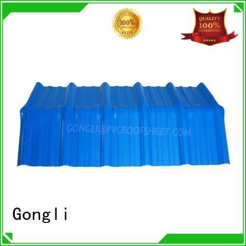Gongli gutter rainboard company for leisure resorts