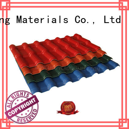 Gongli synthetic asa roofing sheets factory for house