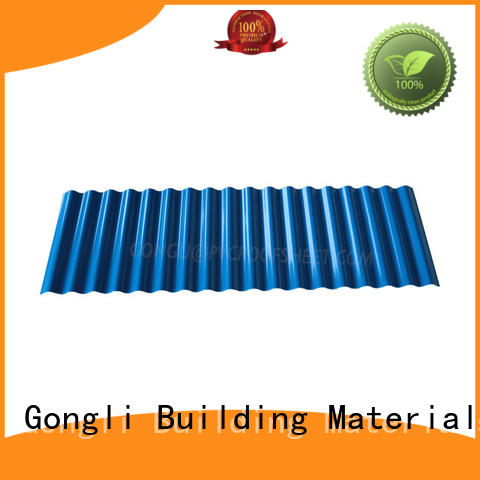 high-end colorbond roofing colours bulk production for chemical factory
