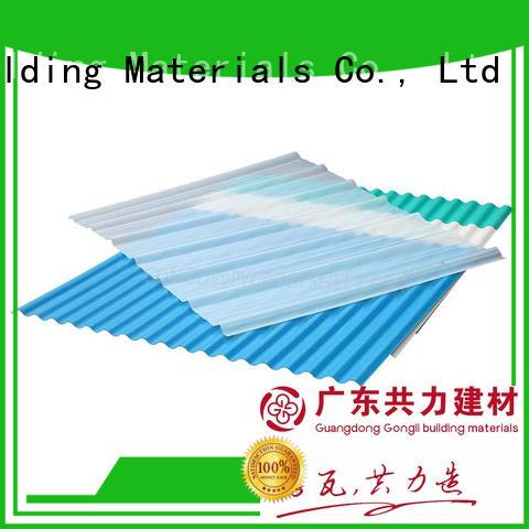 fiberglass sheet sheet for car shed Gongli