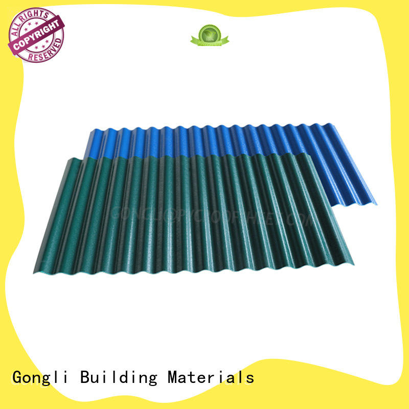 Gongli trapezoid composite roofing sheets Suppliers for agricultural market
