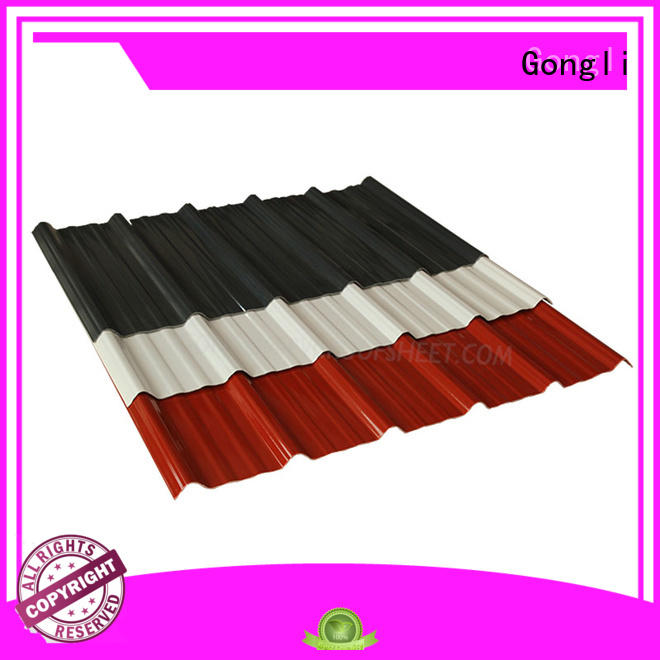 Gongli corrugated composite tiles factory for poultry farm