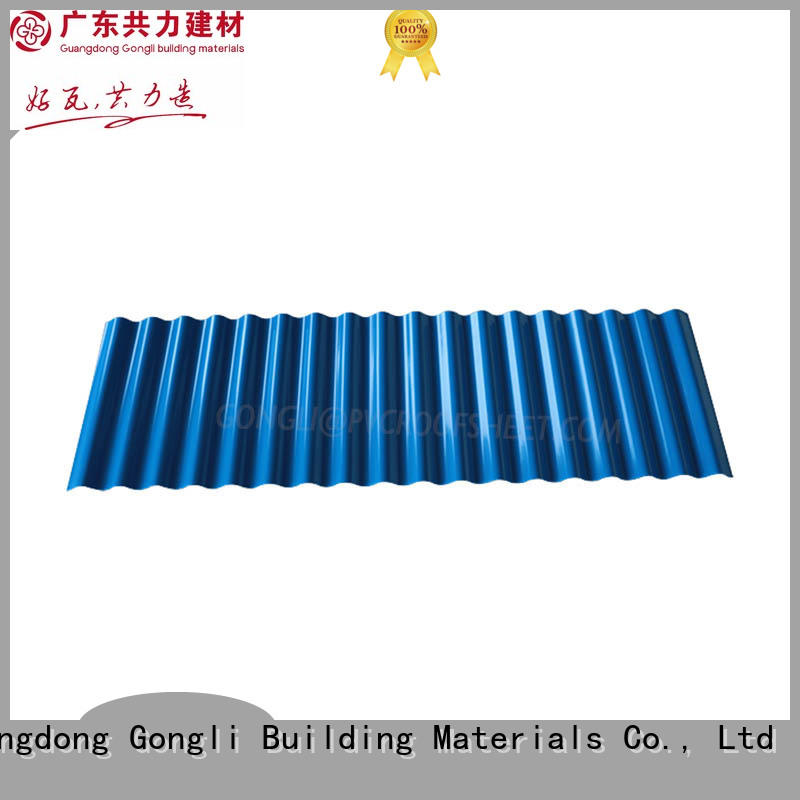 Gongli New pvc wall panel sheet for business for chemical factory
