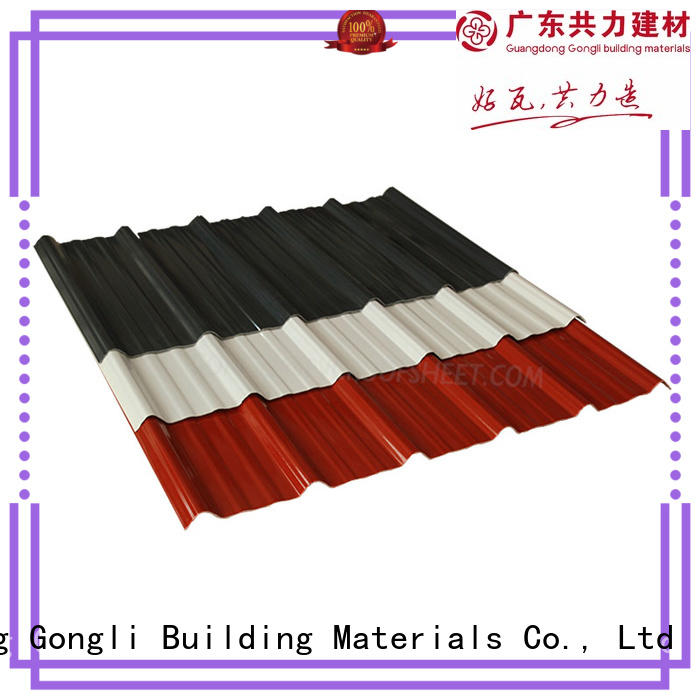 Gongli Wholesale composite roof sheets manufacturers for poultry farm