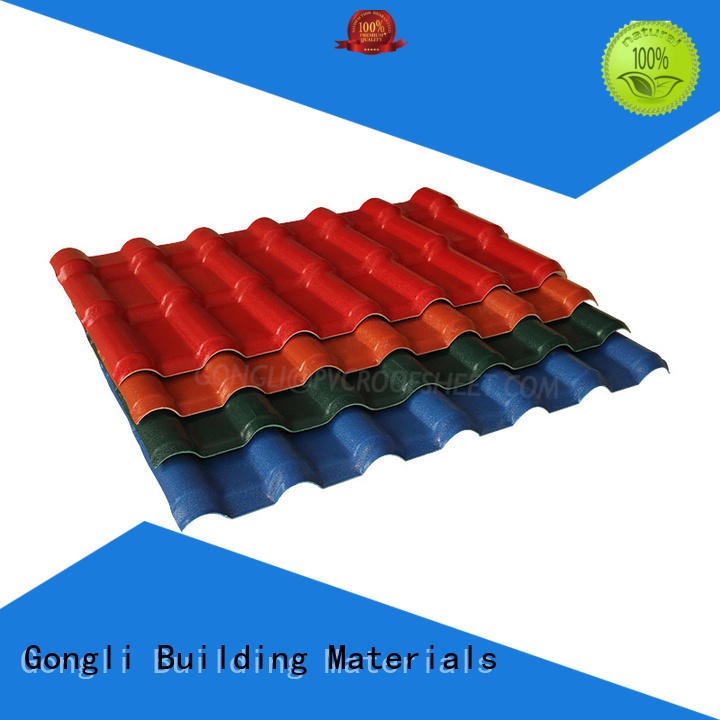 Gongli High-quality lightweight roof tiles Suppliers for villa