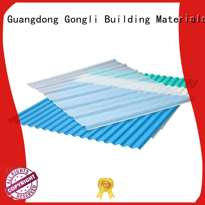 Gongli table translucent roof panels for business for green house