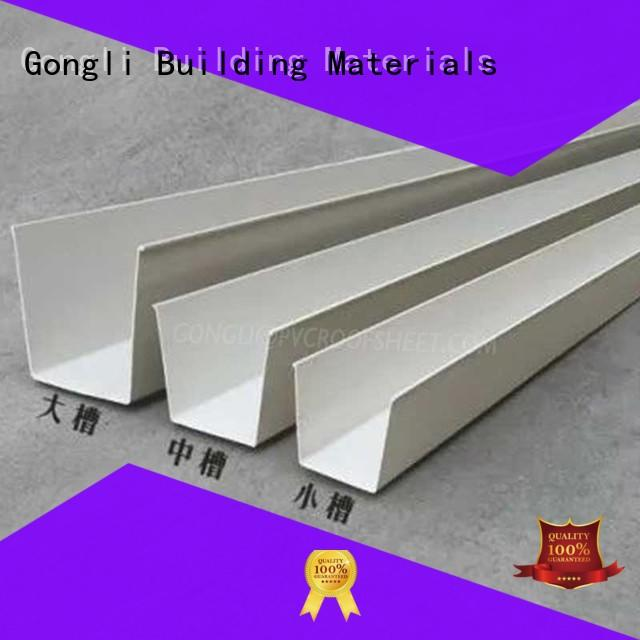 Top rain gutters chinese manufacturers for factory