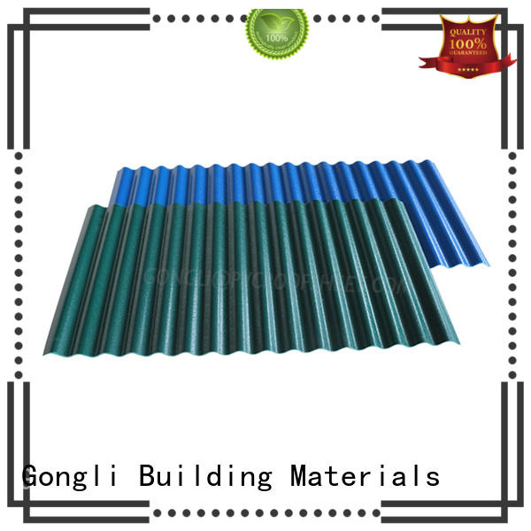 Gongli professional composite roofing panels 40mm for chemical factory