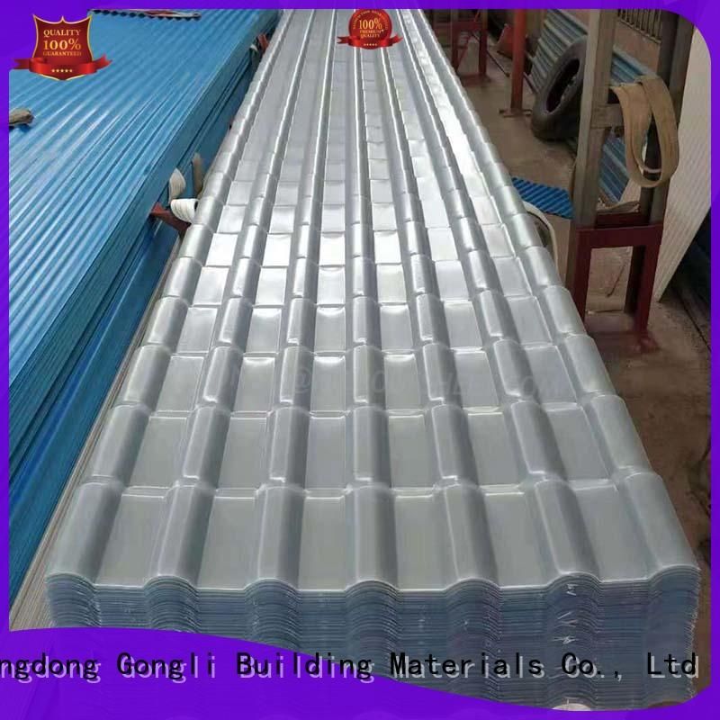 Top translucent roofing sheet factory for chemical factory day lighting