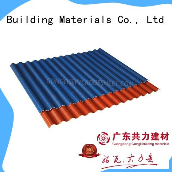 Gongli wave composite roof sheets Supply for warehouse