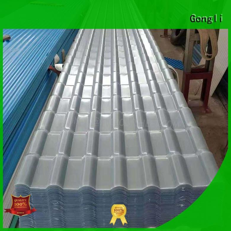 New fiberglass sheet table supply for green house