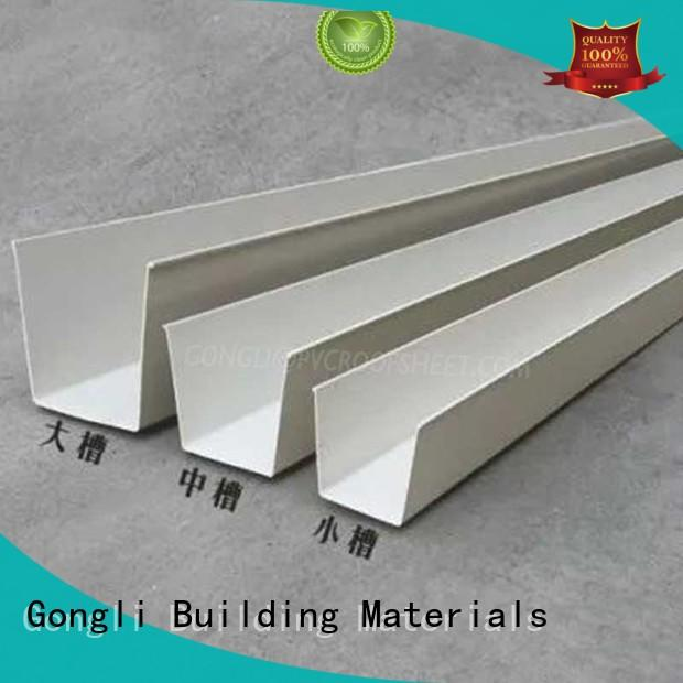 Latest rainboard gutter Suppliers for house
