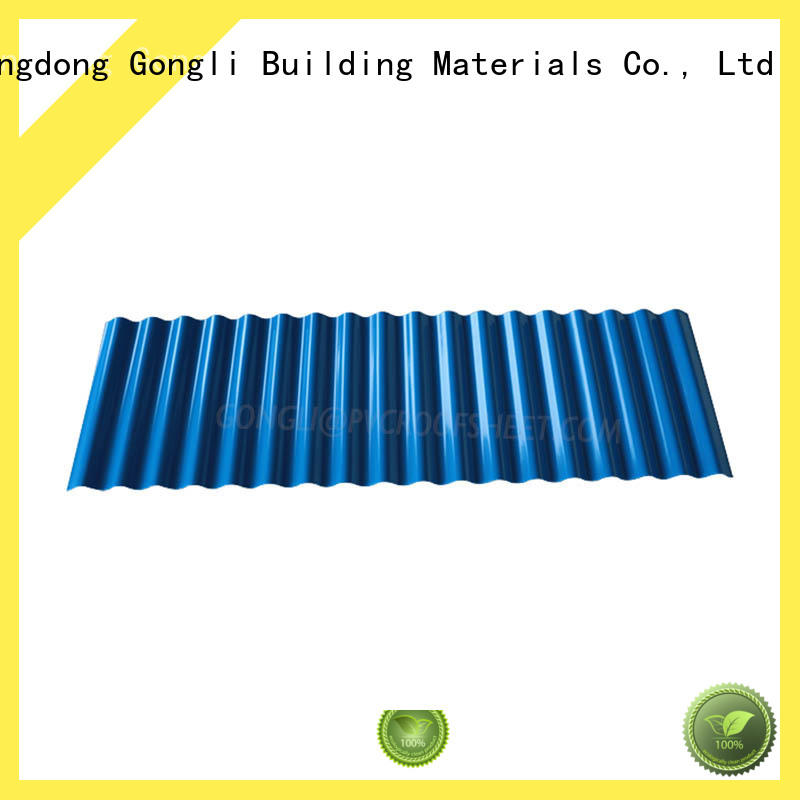 Gongli sheet roofing sheets manufacturers for chemical factory