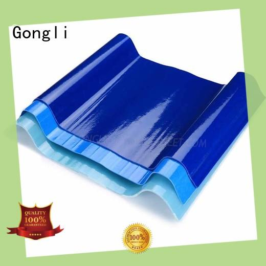 Gongli Latest translucent sheet roofing company for car shed