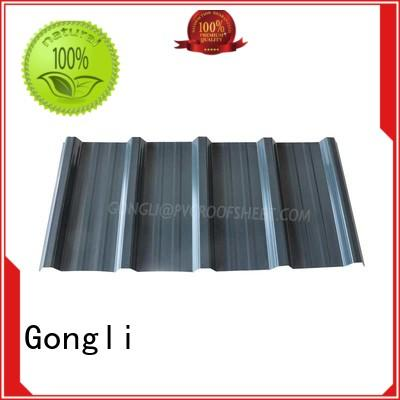 New composite roof sheets trapezoid for sale for car shed