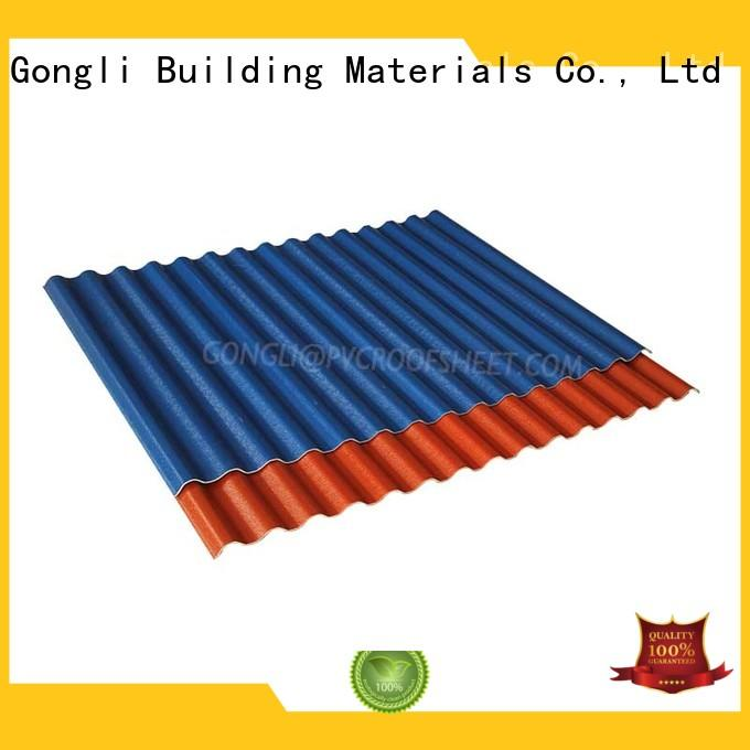 New composite roof tiles trapezoid Suppliers for chemical factory