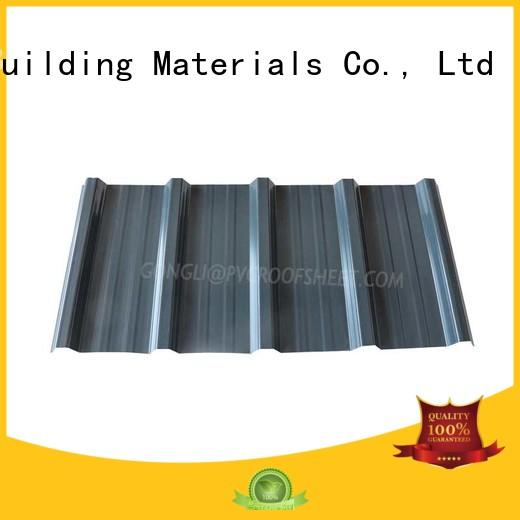 Gongli smooth composite roof tiles company for warehouse