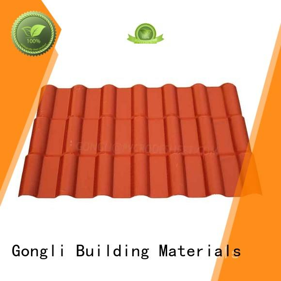 Gongli Best asa sheet manufacturers for leisure resorts