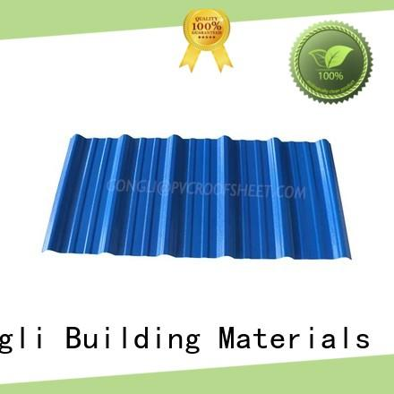 Gongli asapvc composite roof sheets company for poultry farm
