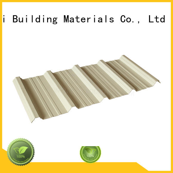 Gongli High-quality upvc roof tiles for sale for chemical factory