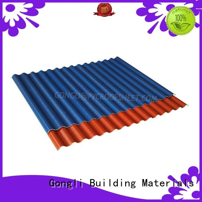 Gongli Top composite roof sheets Supply for warehouse