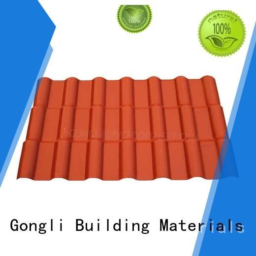 Custom asa roofing tile for sale for villa