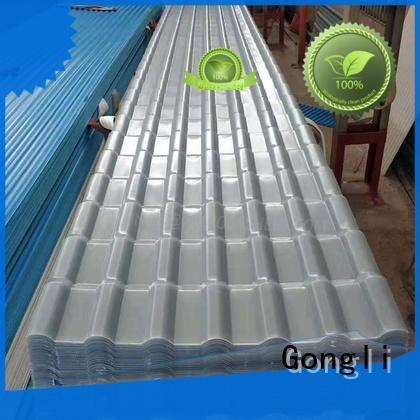 High-quality translucent corrugated roof panels sheet company for car shed
