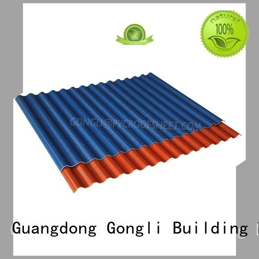 Gongli Wholesale composite roofing panels factory for plant