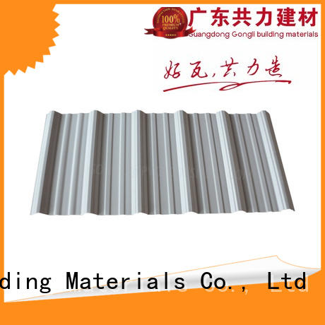 Gongli Best roofing suppliers for sale for car shed