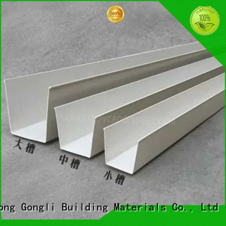 Gongli corrugated side cover for business for leisure resorts