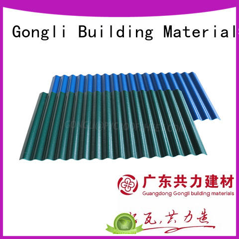 high quality composite roof tiles funky for agricultural market