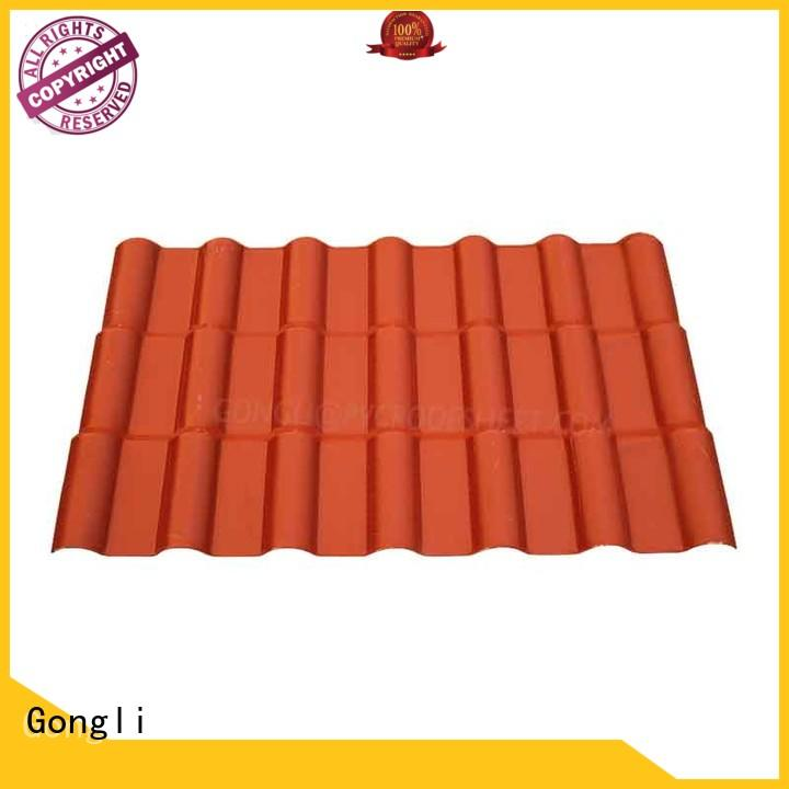Gongli New asa roofing Supply for house
