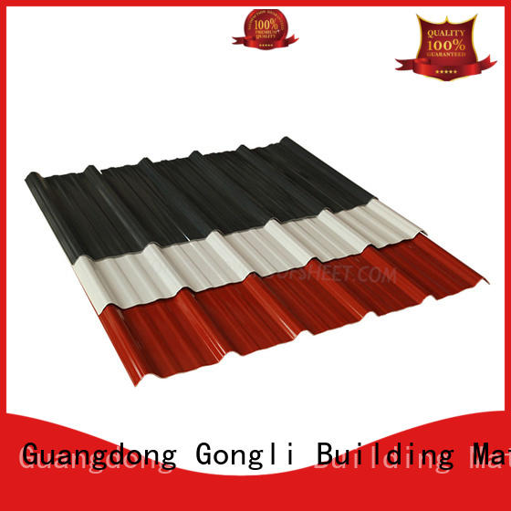 Gongli New composite roofing sheets factory for poultry farm