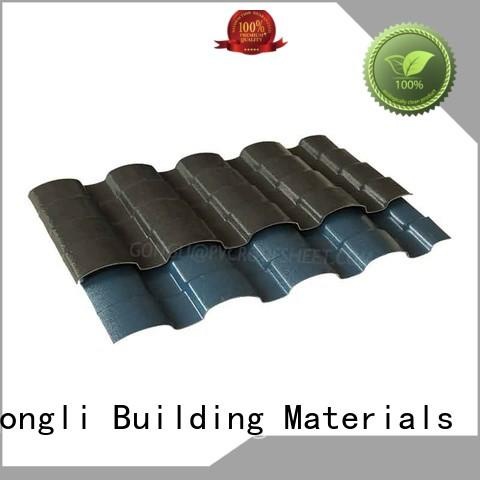 Gongli style asa plastic sheet manufacturers for factory