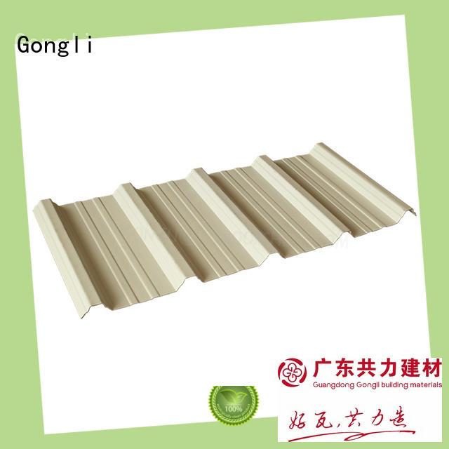 Gongli Top upvc sheets Supply for agricultural market