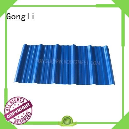 Gongli Custom composite roofing panels Supply for chemical factory