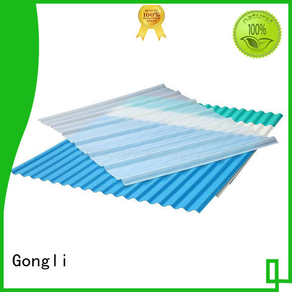 Top translucent sheet roofing shape for business for car shed