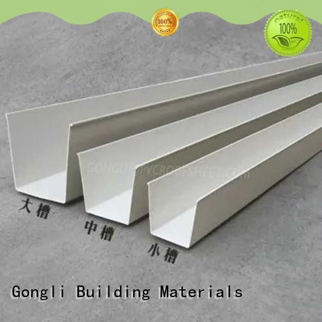 New rain gutters gutter manufacturers for villa