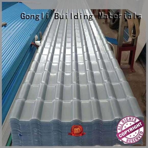 Gongli sheet translucent roof panels for sale for green house