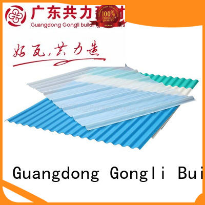 Gongli Custom fiberglass sheet for sale for chemical factory day lighting