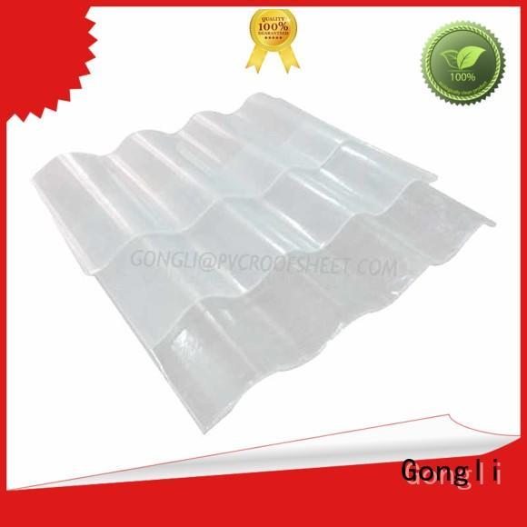 FRP corrugated shape